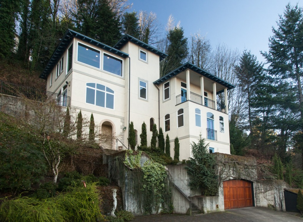 This house could be yours for the low low price of $1.175M. 3 Bedrooms, 2 baths... 3486sq ft... and a killer location in the NW Portland hills. I'm a bit amazed that anyone can afford to live in these places. My mortgage payment is only half of what they pay in property tax!