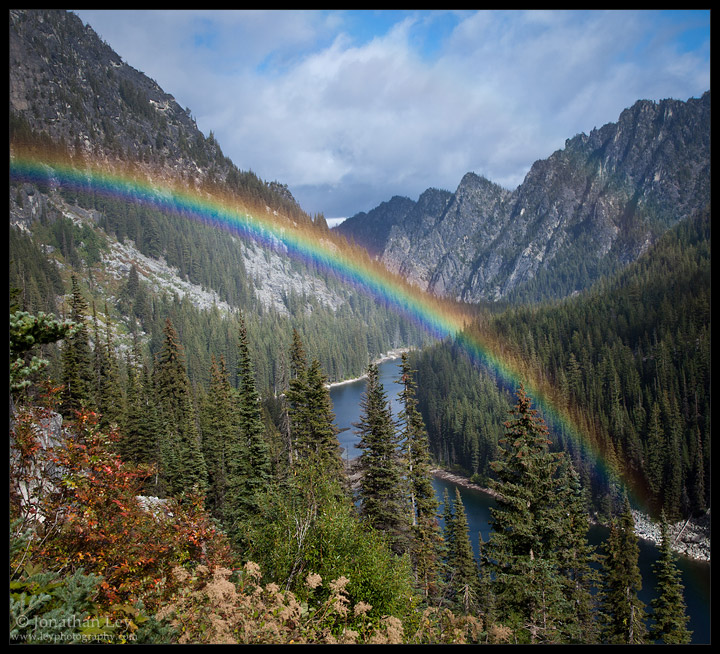 Rainbow Over Nada Lake