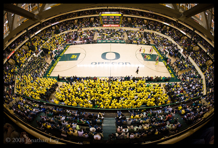 ... by Jonathan Ley | Sports | University of Oregon | Mac Court
